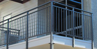 NZ Cost for Balustrades by Material | Zones