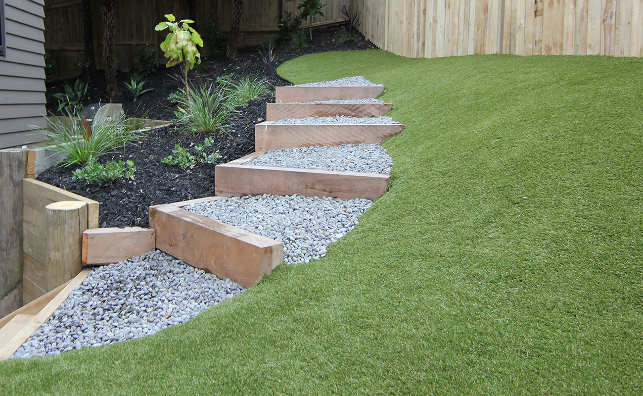 Nz Grasses For Landscaping How to choose the right grass zones lush grass on sloped site workwithnaturefo