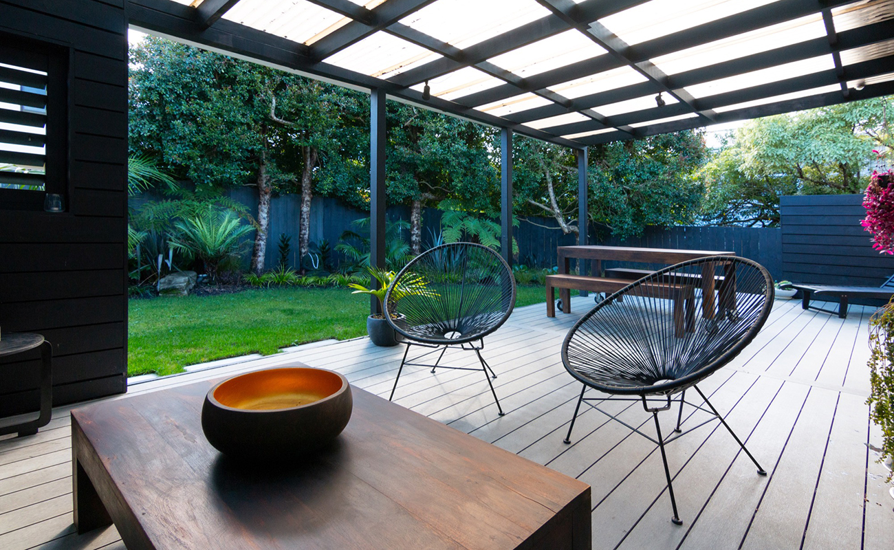 Peace and calm Landscape design in Auckland