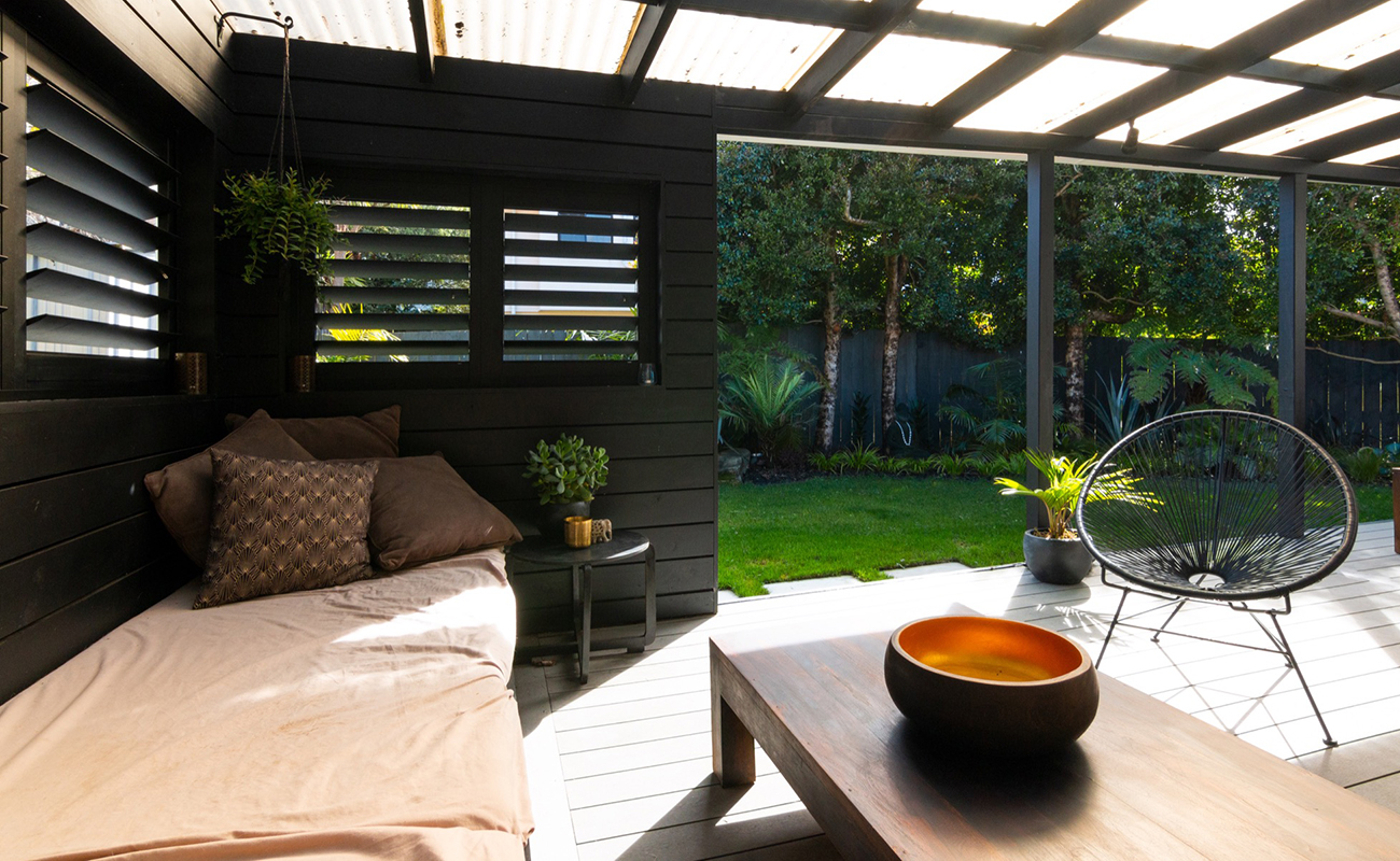 Relaxing outdoor Landscape design in Auckland