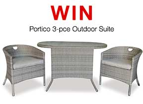 Competition - Win the Portico 3-Piece Outdoor Set