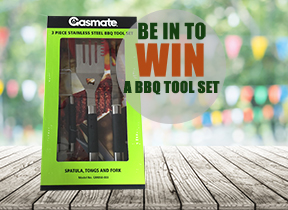 Competition - ENTER NOW for your chance to WIN this BBQ Tool Set!