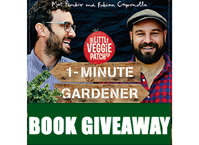 Competition - Be in to WIN this gardening book from Mat Pemper & Fabian Capomolla