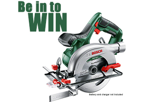 Competition - Be in to win this Bosch Circular Saw!