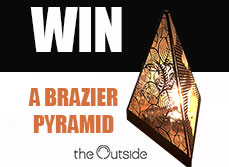 Competition - Wood Burning Fire Brazier Pyramid