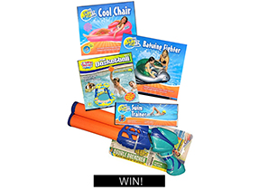 Competition - Epic Swim Sportz pool toy pack