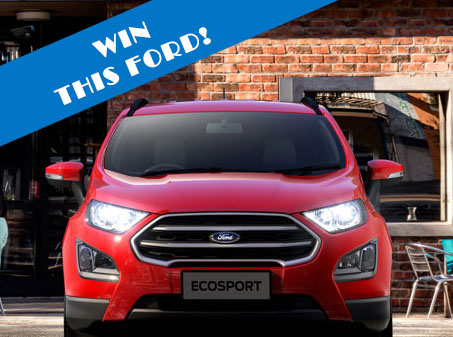 Competition - WIN a 2019 Ford EcoSport with Zones Landscaping