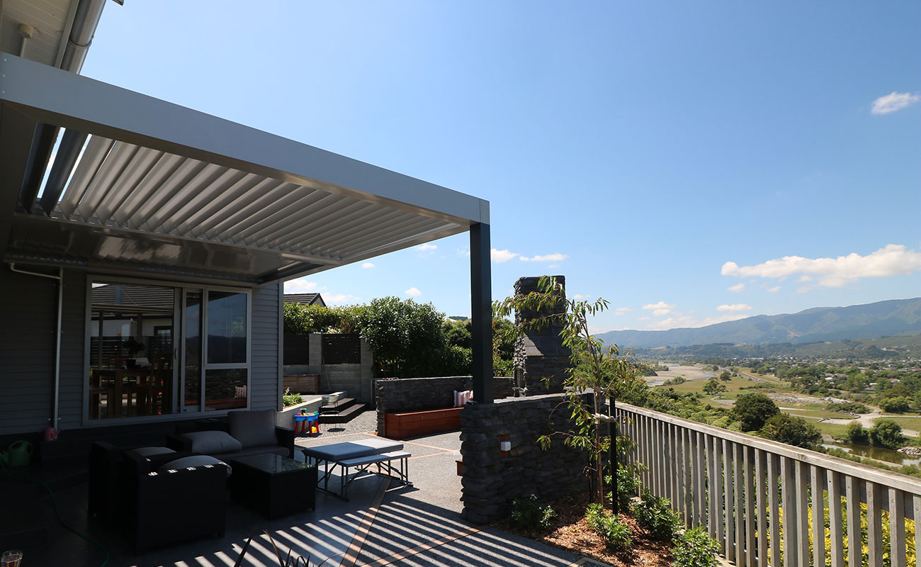 outdoor room makeover in Wellington