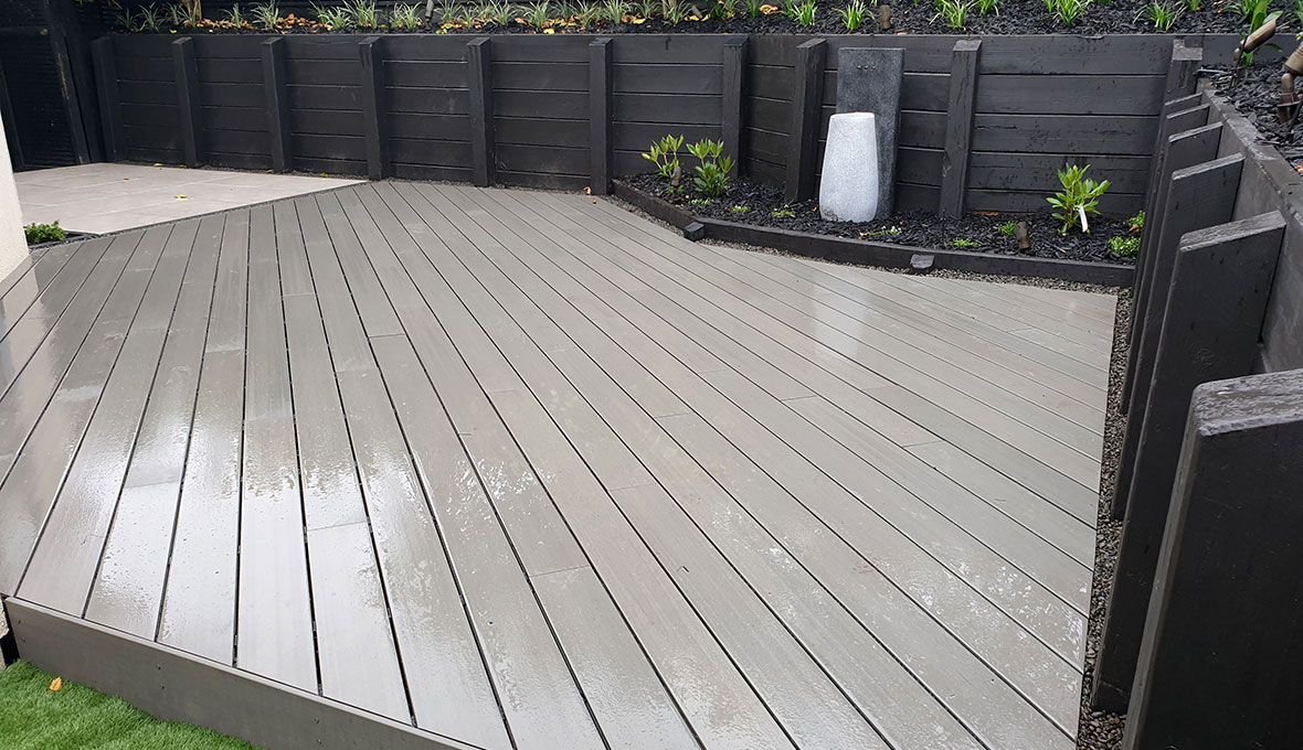 modern deck project Zones Auckland