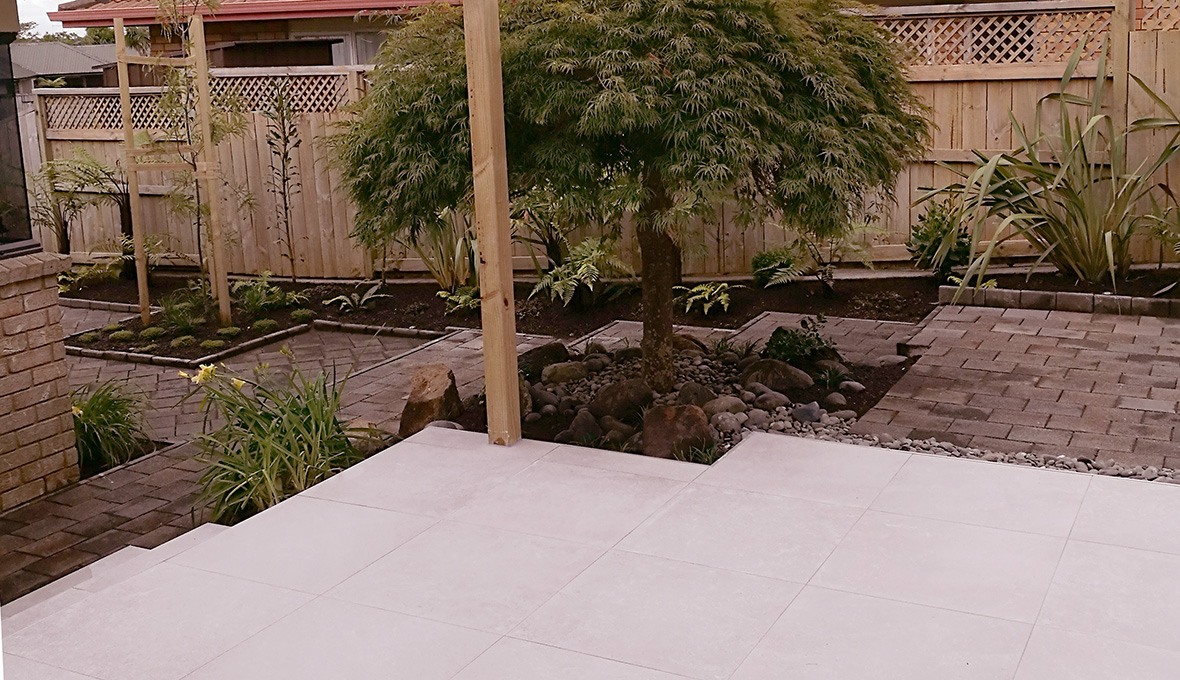 A new deck and new planting