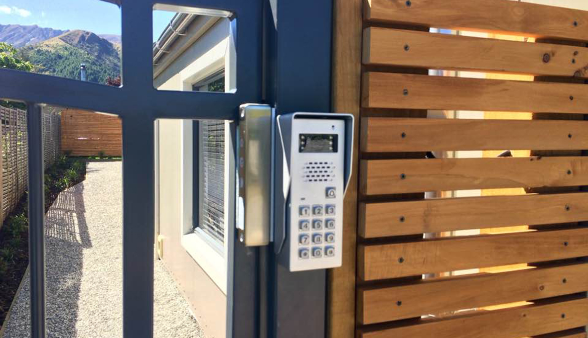 New gate and intercom installed in Arrowtown