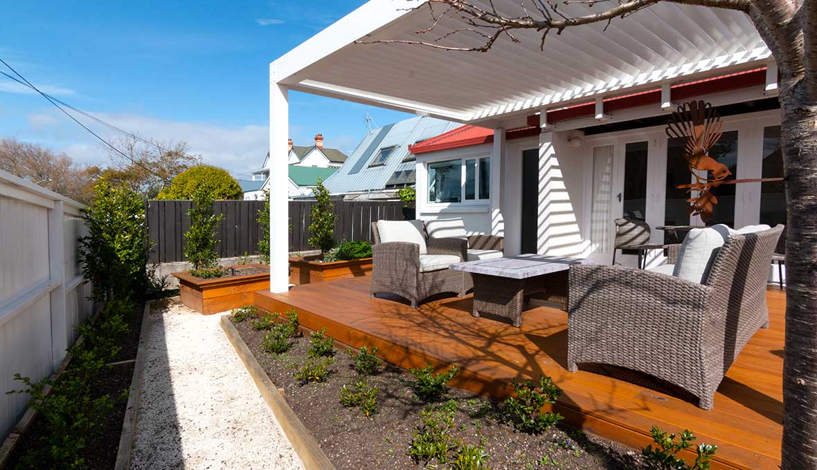 Devonport landscaping project by Zones landscaping