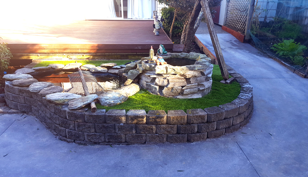 A backyard make over in East Tamaki