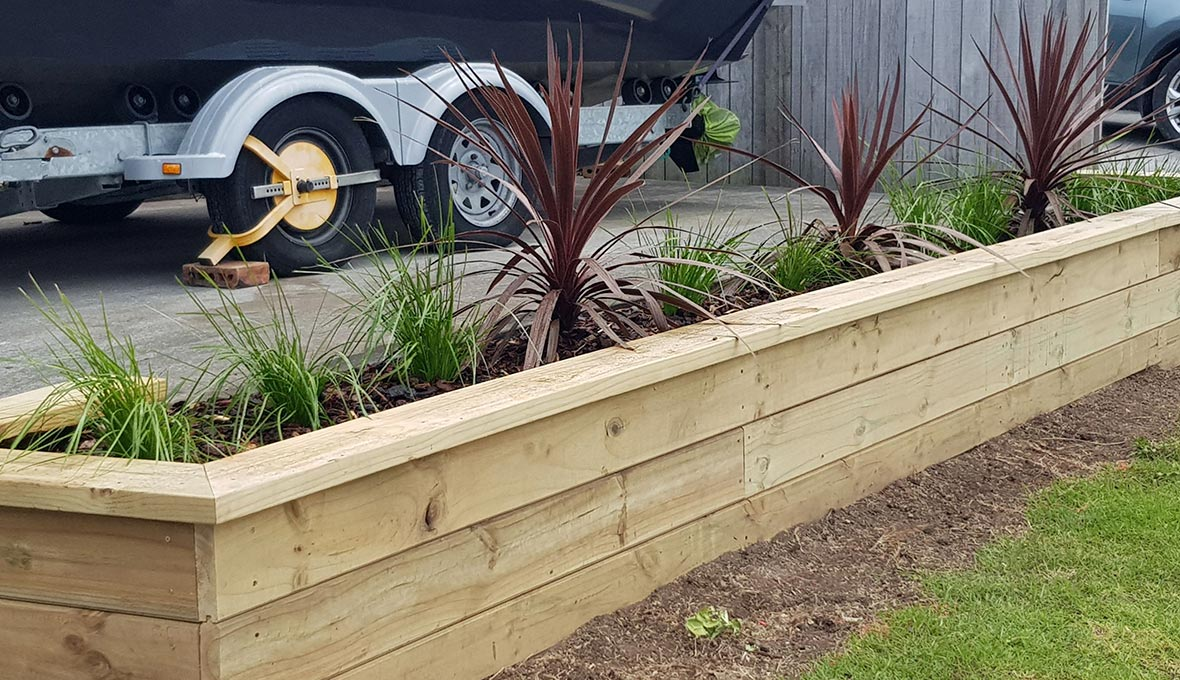 Missy wanted an eclectic mix of plants and trees that would embrace Whangarei's coastal surroundings and bring them into the suburban setting.