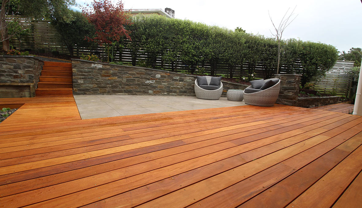 To develop their vision into a feasible concept, the homeowner reached out to Jason Clarke, their local Landscaping Specialist.
