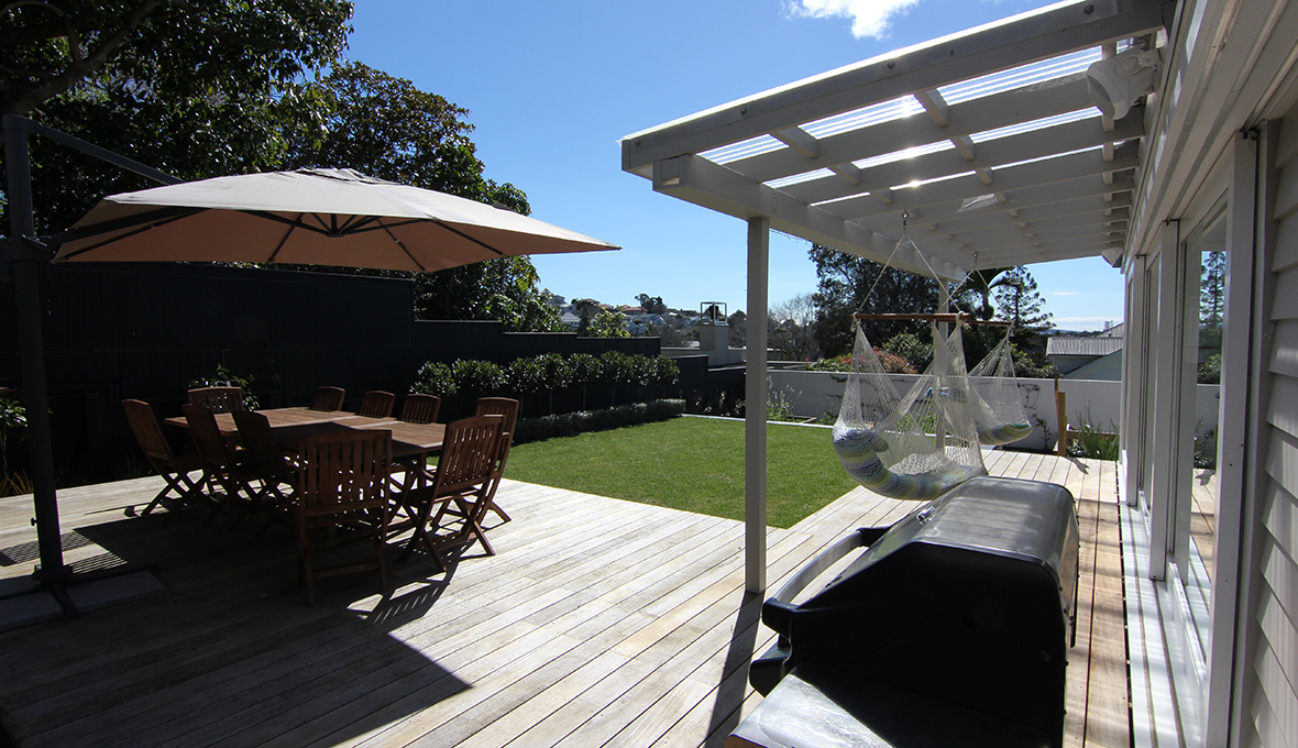 Zones landscaping remuera edible garden decking