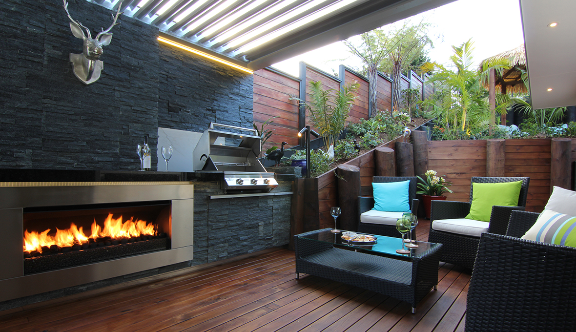 Zones landscaping titirangi entertainment extravanganza outdoor kitchen