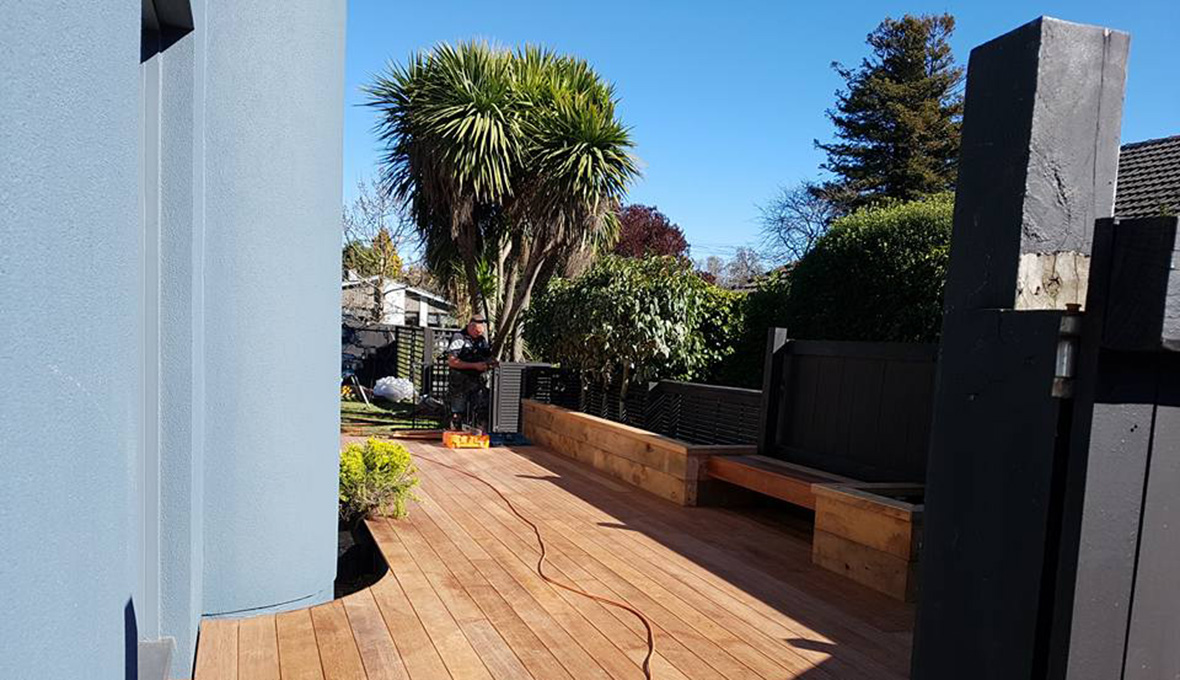 Deck work in Christchurch