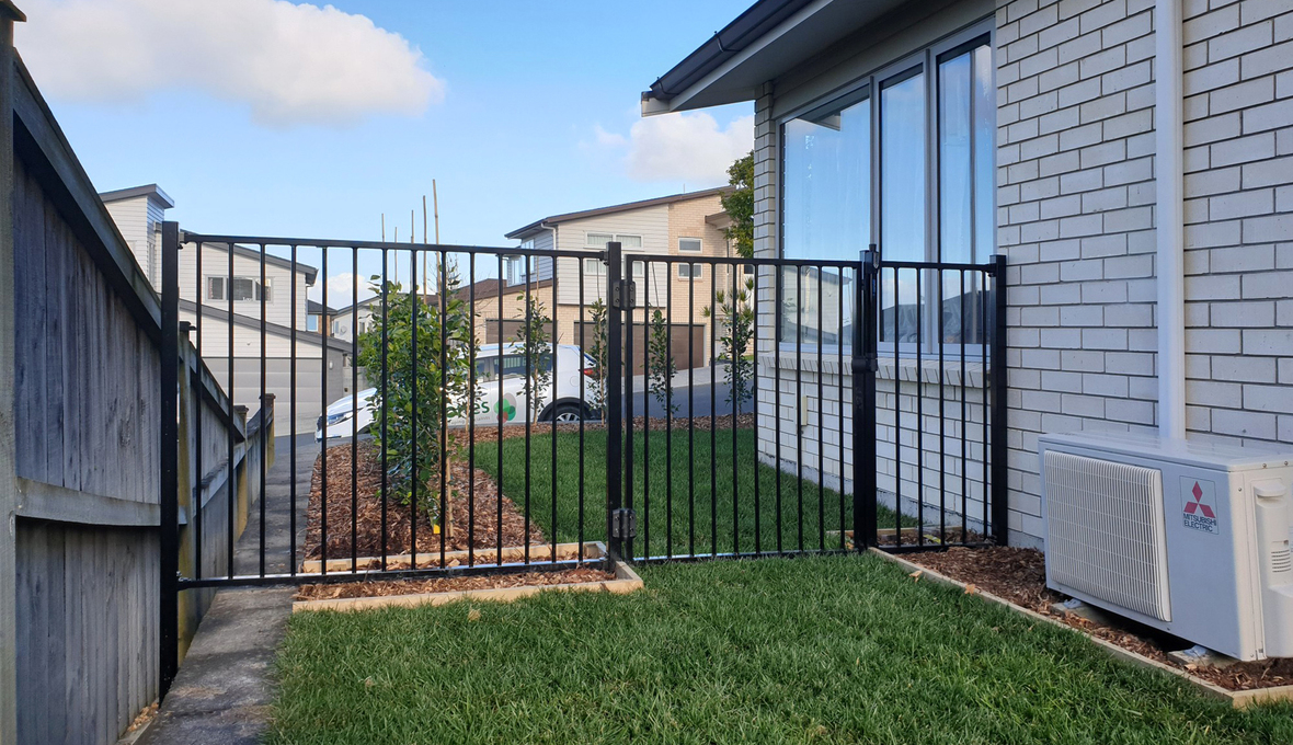 outdoor fence gate West Auckland