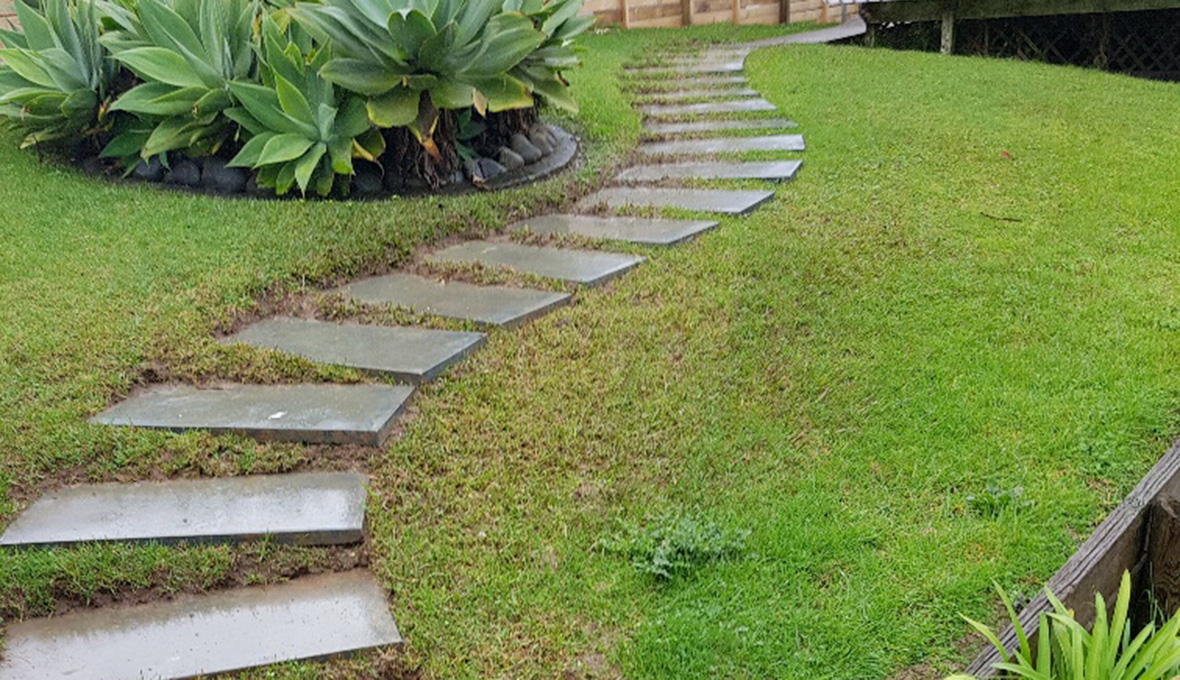 Old path before replacement in Totara Vale