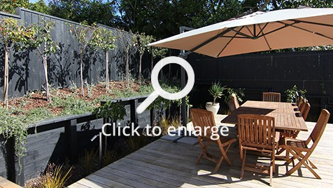 Zones landscaping remuera edible garden alfresco dining