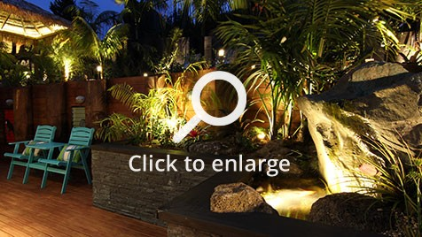Zones landscaping titirangi entertainment extravanganza water feature