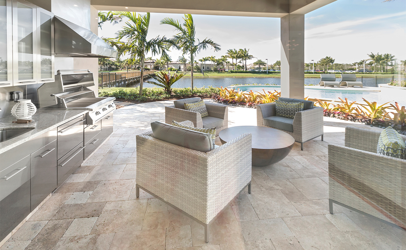 High end outdoor kitchen cost | Zones