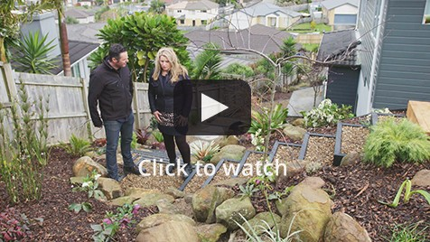 Suburban Zen garden featured on 'The Get Growing Roadshow' 2015