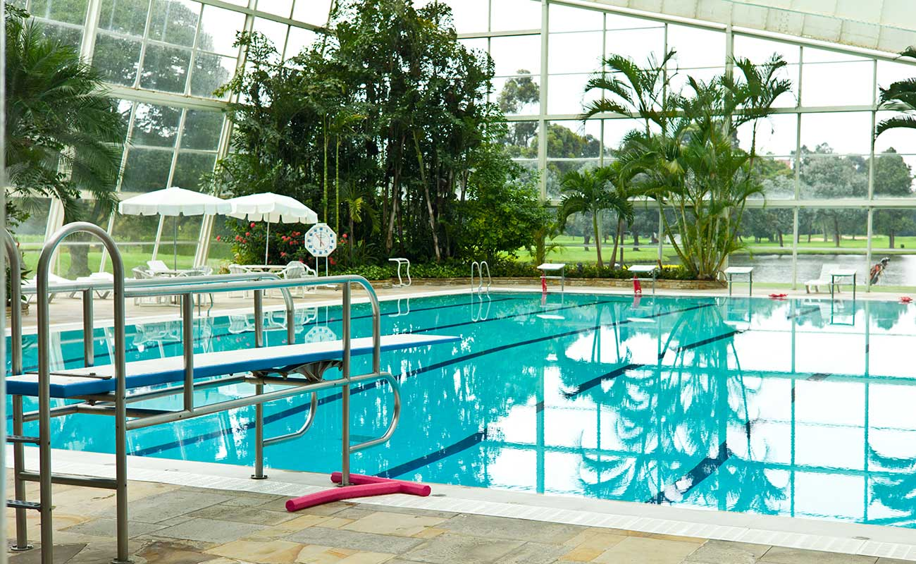 greenhouse swimming pool