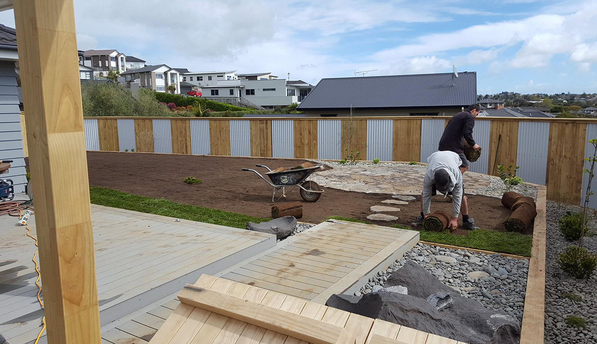 Cost of landscaping your backyard in New Zealand | Zones