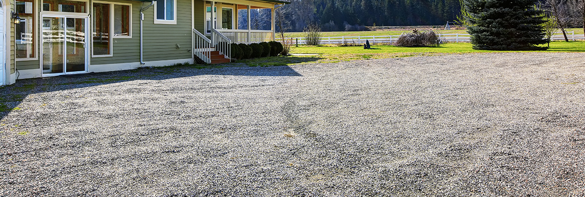 Gravel driveways | Zones