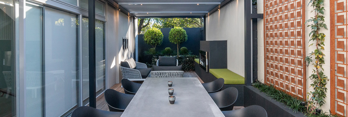 Modernising a Cosy Courtyard in Herne Bay, Auckland