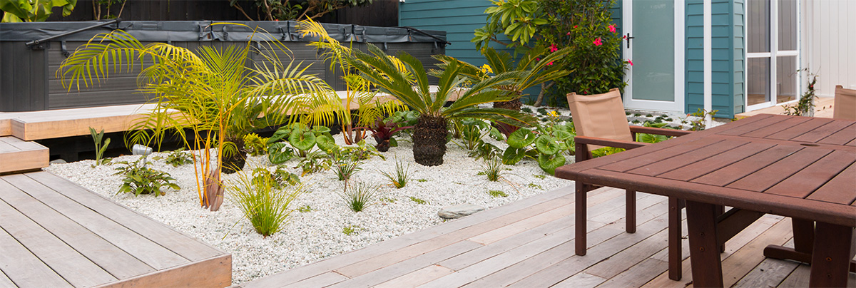 A resort garden makeover in Westmere - Landscape Case Study in ...