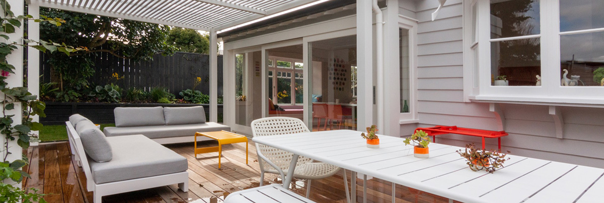 A Family-Friendly Backyard in Northcote Point, Auckland